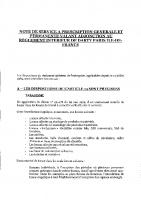 Adjonction – Règlement intérieur – 2005